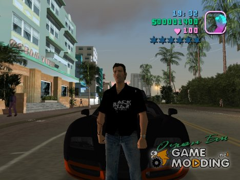 Скин black star Томми Версети for GTA Vice City