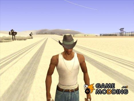 Ковбойская шляпа из GTA Online v3 для GTA San Andreas
