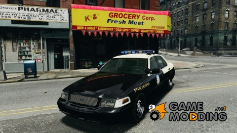 Ford Crown Victoria Florida Highway Patrol Units for GTA 4