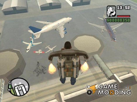 Пак самолётов для GTA San Andreas