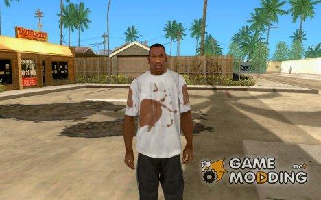Кровавая футболка for GTA San Andreas
