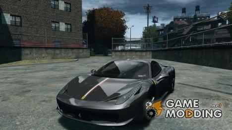 Ferrari 458 Spider 2013 v1.01 for GTA 4