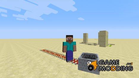 Выбрасывающие рельсы for Minecraft