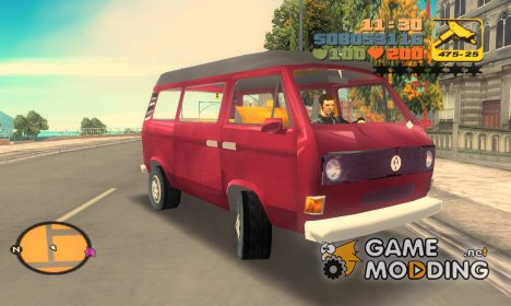 Volkswagen T3 for GTA 3