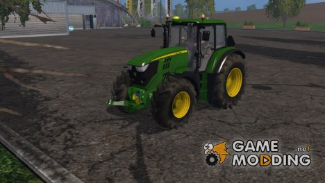 John Deere 6170M для Farming Simulator 2015