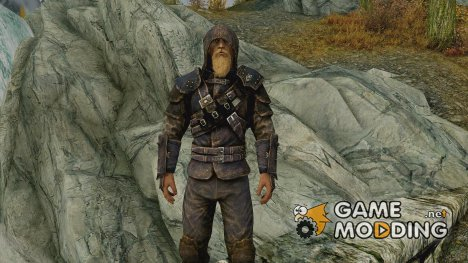 Mercenary Armor ENGLISH - Thieves guild Guildmaster armor unenchanted for TES V Skyrim