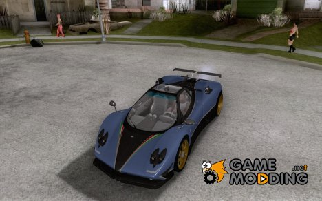 Pagani Zonda Tricolore V1 for GTA San Andreas