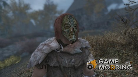 Hoodless Dragon Priest Masks - With Dragonborn Support для TES V Skyrim