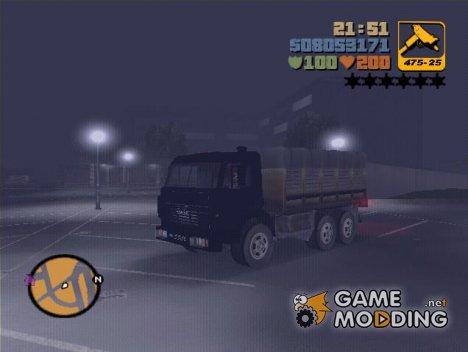 Военный КамАЗ 4310 for GTA 3