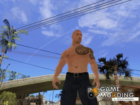 The Rock for GTA San Andreas