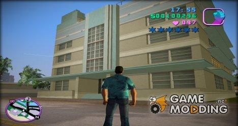 Новые текстуры для отеля в Вайс-Пойнт (spad_buildnew) для GTA Vice City