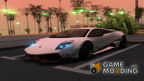 2010 Lamborghini Murcielago LP670-4 SV Liberty Walk LB Performance для GTA San Andreas