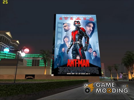 Анимированная Афиша Кино 2015 for GTA San Andreas