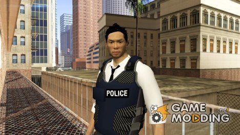 Detective Kurosawa from Binary Domain для GTA San Andreas