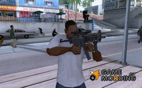 Tactical mp5 for GTA San Andreas