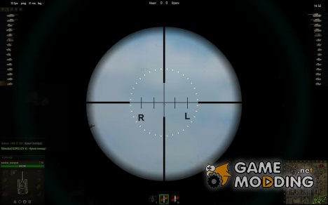 Снайперский прицел No.41 Telescop Reticle  for World of Tanks