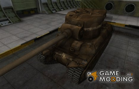 Скин в стиле C&C GDI для M6A2E1 для World of Tanks