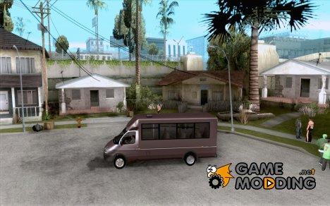 """ГАЗель """"Рута"""" for GTA San Andreas"""