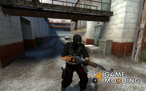 Modderfreak's Communist T V2 With Black Used Vest для Counter-Strike Source
