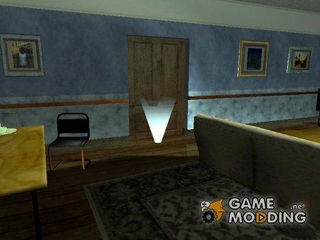 Подпольный спортзал в доме CJ 1.0 for GTA San Andreas