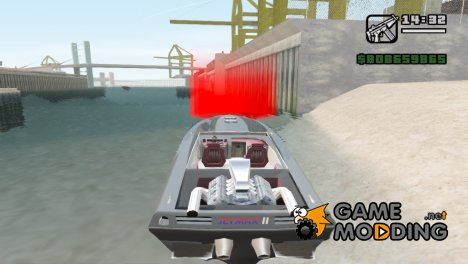 Лодочная станция v2 для GTA San Andreas