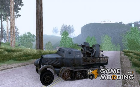 Бронетехника ЗСУ Sd.Kfz. 7/1 для GTA San Andreas