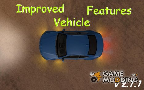 Improved Vehicle Features 2.1.1 для GTA San Andreas