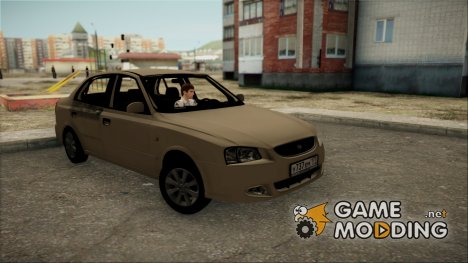Hyundai Accent Stock для GTA San Andreas