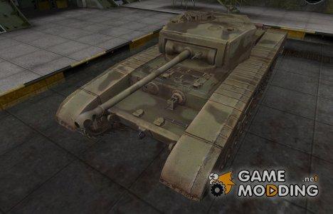 Пустынный скин для Matilda Black Prince for World of Tanks
