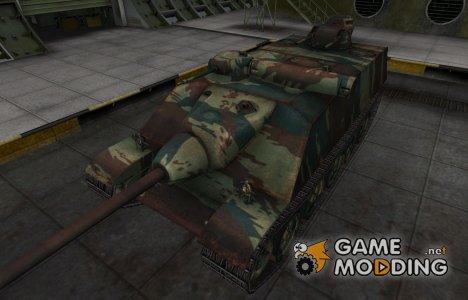 Французкий новый скин для AMX AC Mle. 1948 for World of Tanks