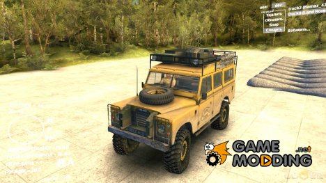 Land Rover Defender Camel for Spintires DEMO 2013
