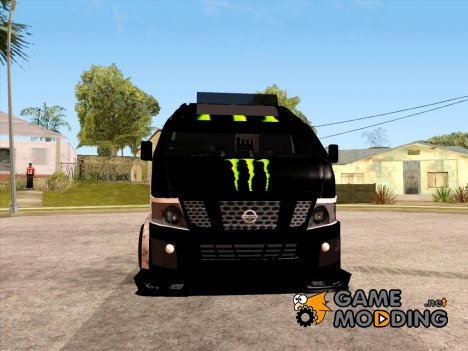 Nissan Urvan NV350 Monster Energy для GTA San Andreas