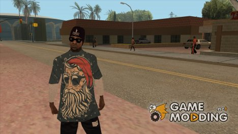 Новый гангстер Ballas3 for GTA San Andreas