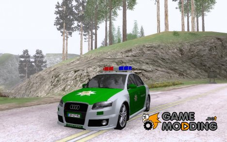 Audi RS 4 Polizei for GTA San Andreas