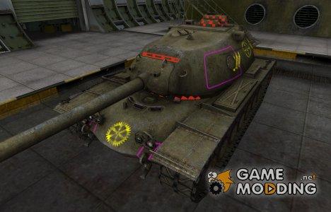 Контурные зоны пробития M103 для World of Tanks