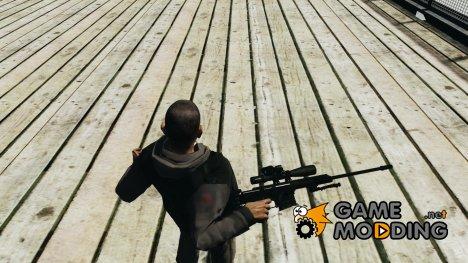 Barrett 98B (снайперка) for GTA 4