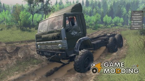 КамАЗ 4310 GS for Spintires 2014