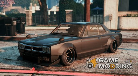 Speedhunters Nissan Skyline 2000GT-R (Stanced) for GTA 5