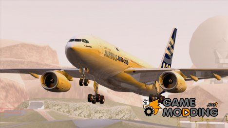 Airbus A330-200 Airbus House Colors для GTA San Andreas