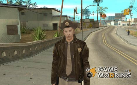 Новый шериф for GTA San Andreas