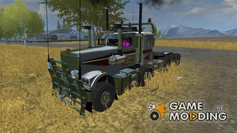 Kenworth Hayes Clipper Roadtrain v2.0 для Farming Simulator 2013
