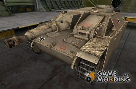 Ремоделинг StuG III для World of Tanks