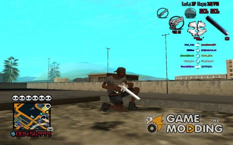 C-HUD by SampHack v.13 for GTA San Andreas
