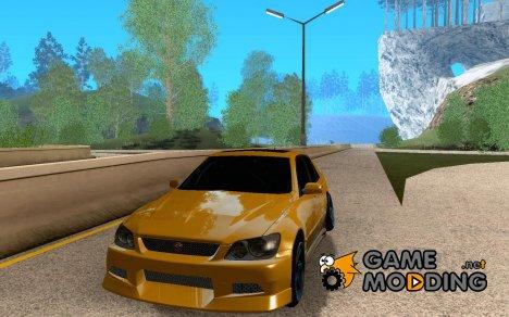 Toyota Altezza Drift для GTA San Andreas