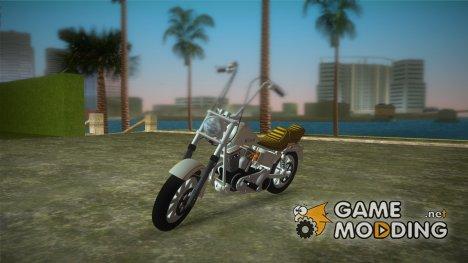 Harley-Davidson Wizard для GTA Vice City