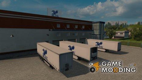 3 Российских компании для Euro Truck Simulator 2