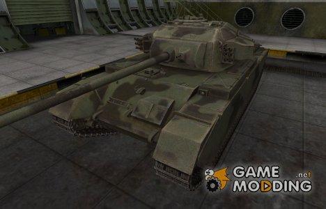 Пустынный скин для Centurion Mk. 7/1 для World of Tanks
