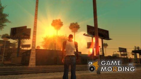 Рабочее солнце в SA-MP для GTA San Andreas