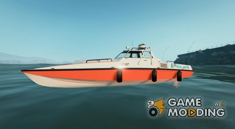 Predator Boat Swiss - GE Police for GTA 5