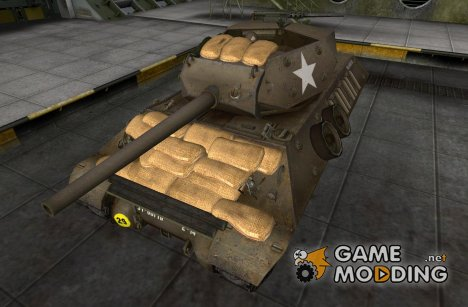 Remodel M10 Wolverine for World of Tanks